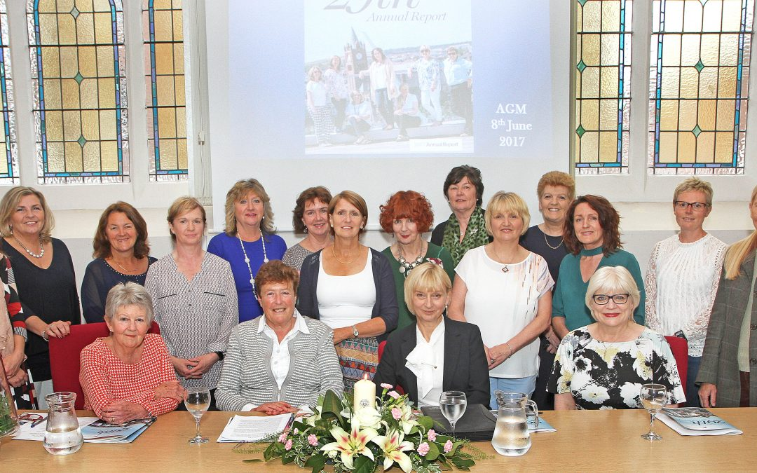 Chairperson presents Derry Well Women 2017 Annual Report